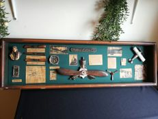 Aviation / aircraft, in wooden display