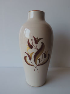"Saint-Radegunde - Gustave Asch - art deco ceramic vase - signed ""the axe"""