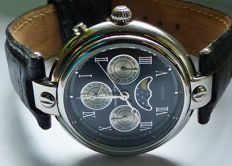Freiderick Stein Solaris/Equinox Calendarium -- men's wristwatch from the 2010s