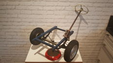 VVR Lehrmittel - School model of a steering mechanism - around 1950/1960 - Made in Germany