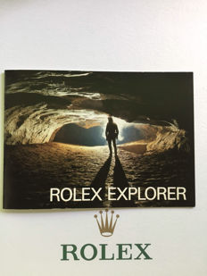 ROLEX EXPLORE INSTRUTION BOOK