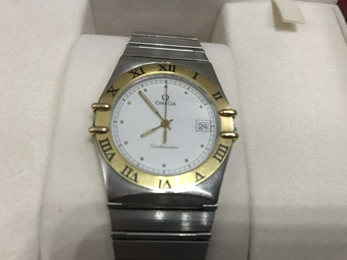 Omega Constellation steel and gold for men - 1990-99