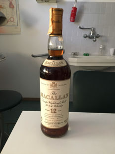 Macallan Single Highland Malt 12 years old - 75cl