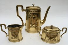 Coffee set in Neoclassic style-France-ca. 1925