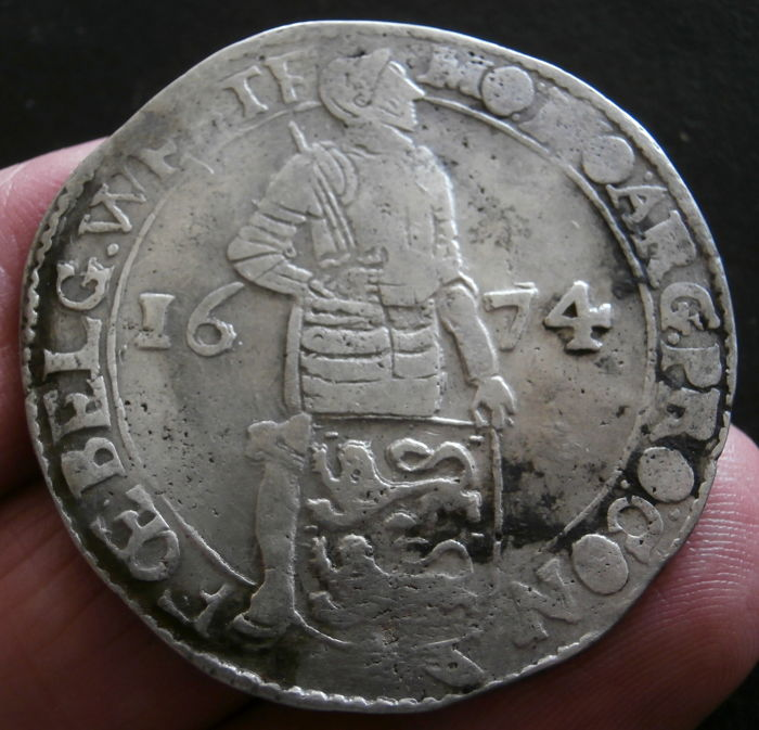 West Friesland – Ducat 1674 – silver