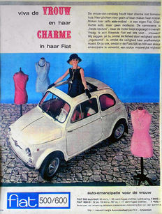 Anonymus - Fiat 500 / 600 D - 1963