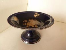 Beautiful dish from Bareuther Echt Cobalt blue with gold