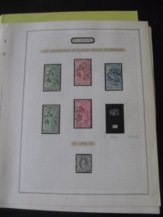 Switzerland 1900/1955 - Collection of stamps of which some are from the end of the catalogue.