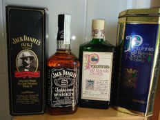 2 bottles - Jack Daniel's Old n7 & Pinwhinnie Royal