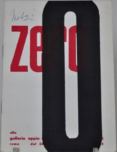 Galleria Appia Antica - Exhibition catalogue 0 / Zero - 1959
