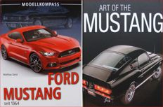 2 Books on Ford Mustang