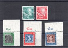 Bundespost 1949/1950 - Michel 111/122