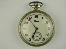 Elegant pocket watch / Corsair pattern: Sailing ship, - (no. 161)