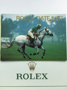 ROLEX DATEJUST BOOKLET