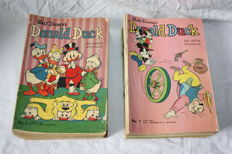 Donald Duck Weekblad - 104 issues - 2 complete years - 104xsc - 1st edition (1962/1963)