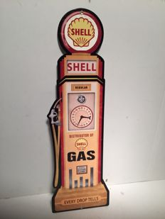 Shell Heavy metal sign 66 x 21 cm, USA, late 20th, early 21st century