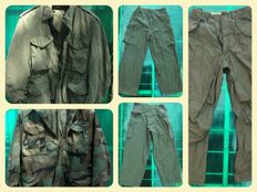 lot 2 field jakets  U.S.Army  from vietnam era and 3 pants