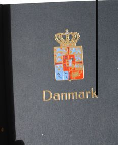 Denmark - Collection from 1850's/1980's s mounted in 1 Album Davo