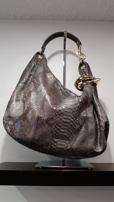 Jimmy Choo – luxury shoulder bag in python