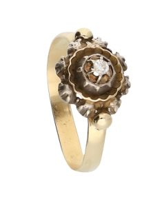 Ring – Yellow gold – Diamond