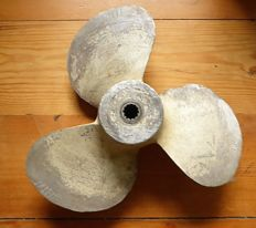 WW2 - Kriegs-marine. Propeller of presumably a schnell-boot