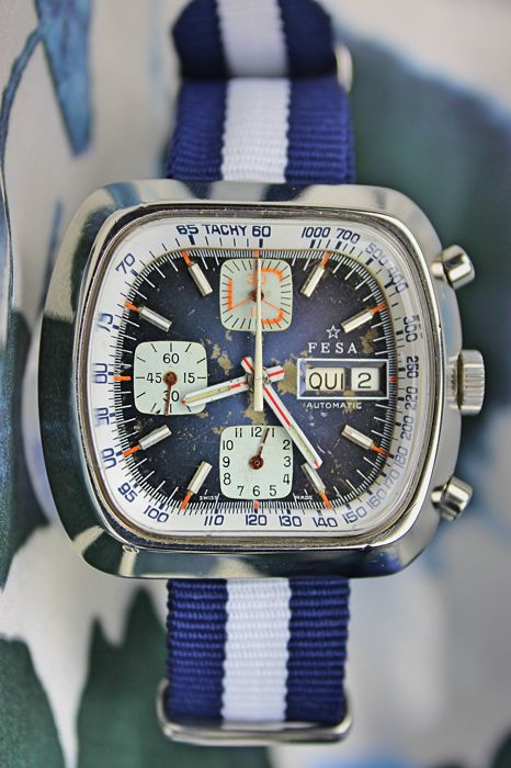 Fesa — Chronograph Automatic Diver — Men — 1970-1979
