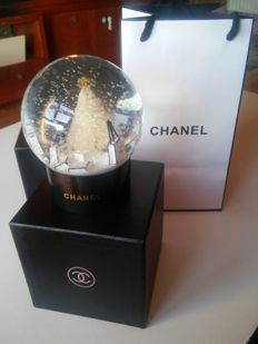 Crystal snowball from Chanel.
