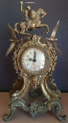 Great Portuguese clock made of bronze