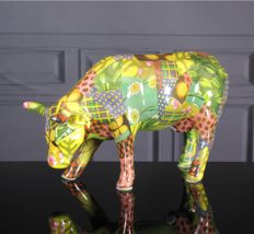 CowParade - Patchwork Suit medium - Krista Rosenkilde