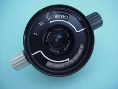 Nikkor 35mm  1 : 2.5 underwater lens