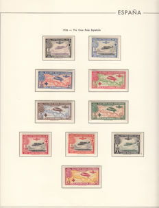 Spain 1920/1930 – Stamp collection.