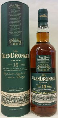 The Glendronach Revival aged 15 years in Original Box