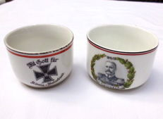 WW I Patriotic Porcelain Germany