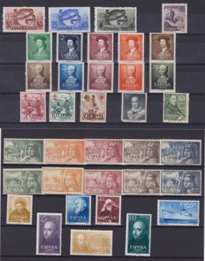 Spain, 1950s/1970s – Selection of 299 stamps (sets and single stamps)
