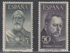 Spain 1850/1969 - Collection of stamps with airmail