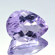 'Rose of France' amethyst – 20.61 ct – No Reserve Price