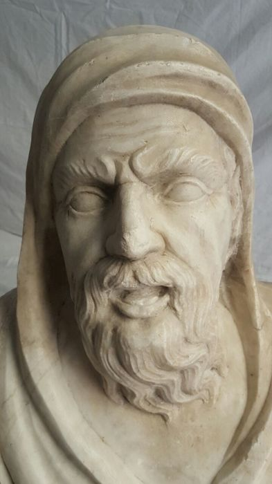 Important Renaissance sculpture made of Carrara marble - Northern Italy - early 16th century