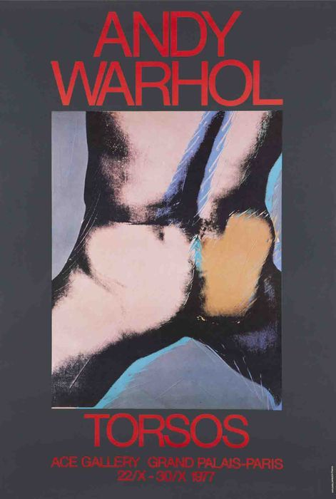Andy Warhol - Torsos - Ace Gallery