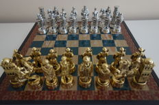 Collection chess: Arabs and Templars