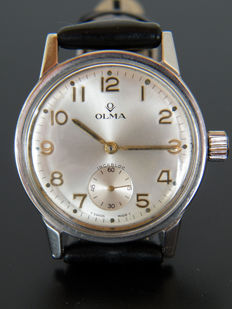 Olma - Men's wristwatch from 1960s - Swiss made.