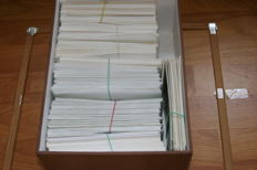 France - 447 first day envelopes and 53 first day post cards