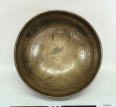 Hand-hammered singing bowl – Nepal – late 20th century