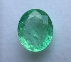 Emerald - 7.65 ct - No reserve