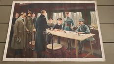 The Signing of the Armistice 1918.