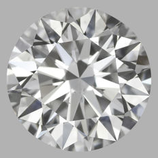 1.01 ct  Round Brilliant G VS2  GIA-1097 #-original image -10x