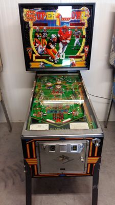 Bell Games Pinball - Super Bowl (1984)
