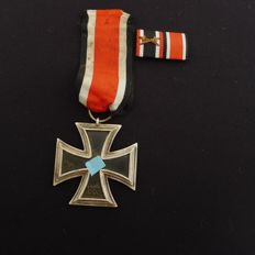 Iron Cross, EK 2nd class with manufacturer and miniature clasp