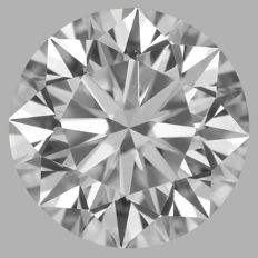 0.70ct  Round Brilliant  E VS2  GIA-#WI24-original image -10x