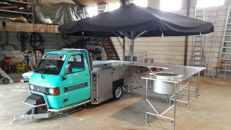 Piaggio 2.5 T converted into a mobile beer tap and bbq - 2008