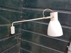 Jacques Biny by Appareil Lita – Industrial swivel arm wall light